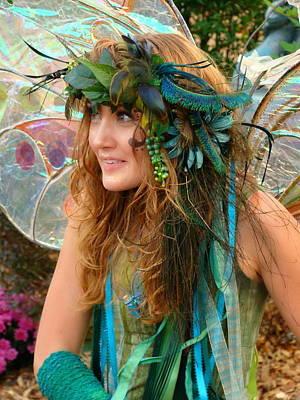 Katharine Hepburn - Mischievous Fairy by Rodney Lee Williams