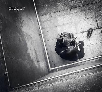 Photograph - Misery Of A Vagabond Musician by Stwayne Keubrick
