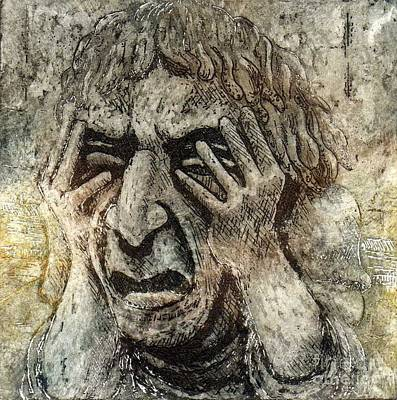 Misery Art Print by Suzette Broad