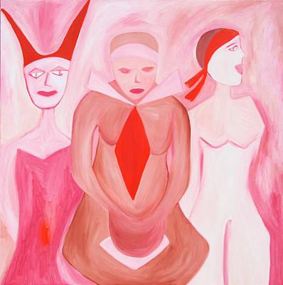 Misguided Feminine Print by Jen Lothrigel