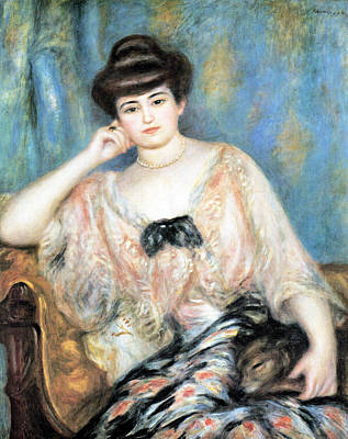 Digital Art - Misia Natanson by Pierre Auguste Renoir