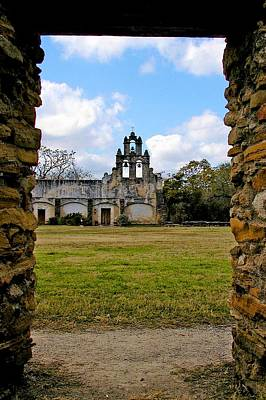 Photograph - Mision San Juan 3 by Ricardo J Ruiz de Porras