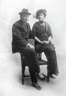 Spats Photograph - Miskinoff And Crocker by Granger