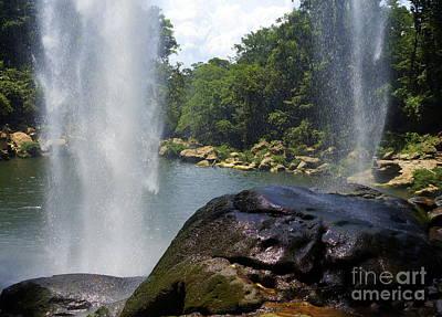 Photograph - Misol Ha Waterfall 2 by Rachel Munoz Striggow