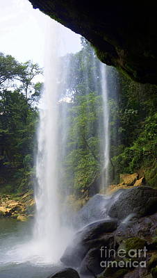 Photograph - Misol Ha Waterfall 3 by Rachel Munoz Striggow