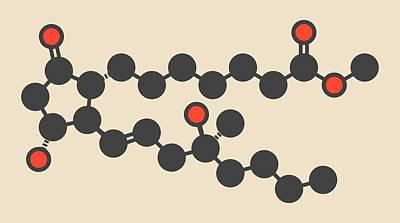 Miscarriage Photograph - Misoprostol Molecule by Molekuul