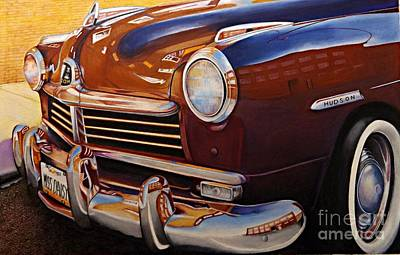 Color Pencil Drawing - Miss Daisy by David Neace