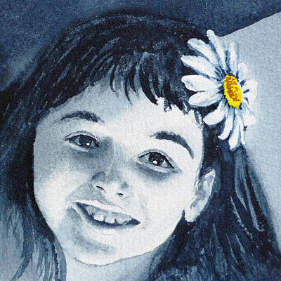 Painting - Miss Daisy  by Irina Sztukowski