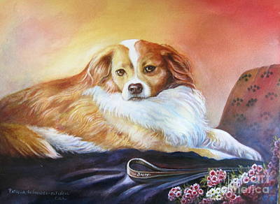 Painting - Miss Daisy by Patricia Schneider Mitchell