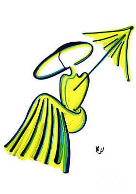 Miss Deauville Art Print
