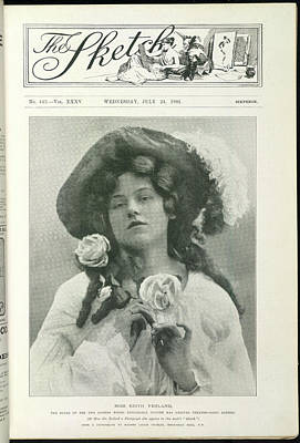 Roles Photograph - Miss Edith Yeoland by British Library