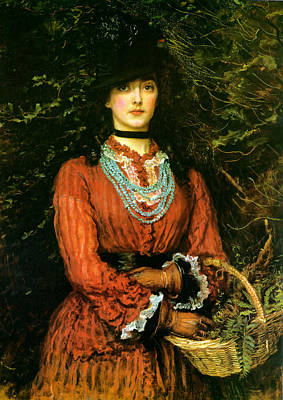 Pre-raphaelite Painting - Miss Eveleen Tennant by Philip Ralley