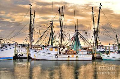 Shrimpboats Wall Art - Photograph - Miss Hale Shrimp Boat by Scott Hansen
