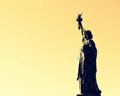 Photograph - Miss Liberty by Ramona Johnston