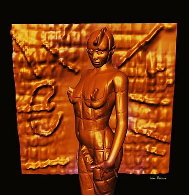 Rhythm And Blues Digital Art - Miss Magnesium Verla Take One A Day Keeps You Healthy And Keeps Depression Away by Sir Josef - Social Critic -  Maha Art