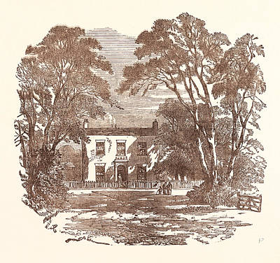 Miss Mitfords Cottage, Swallowfield Art Print