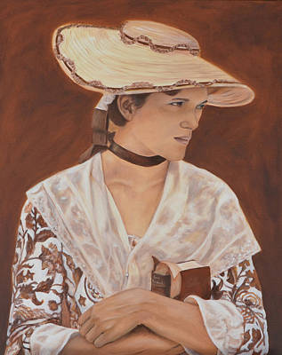 Wall Art - Painting - Miss Nichols by Anne Kushnick