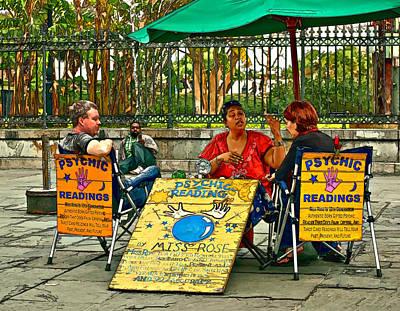 The Umbrellas Digital Art - Miss Rose Has An Insight Paint by Steve Harrington