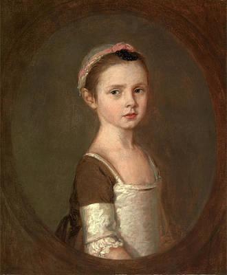Since Painting - Miss Susanna Gardiner 1752-1818 Miss Susan Gardiner by Litz Collection