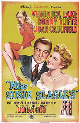 Miss Susie Slagles, Us Poster, From Top Art Print by Everett