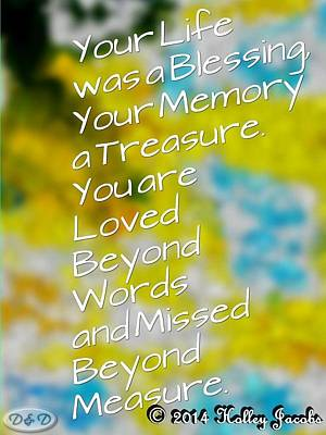 Mixed Media - Missed Beyond Measure by Holley Jacobs