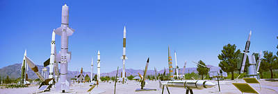 Missile Photograph - Missiles At A Museum, White Sands by Panoramic Images