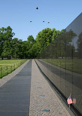 Vietnam Veterans Memorial Wall Digital Art - Missing Man F-4 Phantom by Peter Chilelli