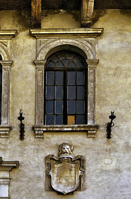 Photograph - Roman Window by Maria Coulson