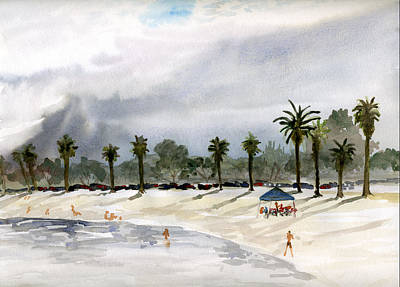 Painting - Mission Bay 2 by Brian Meyer