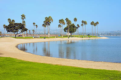 Photograph - Mission Bay Park San Diego California by Marianne Campolongo