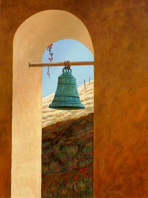 Wall Art - Painting - Mission Bell by Chris MacClure