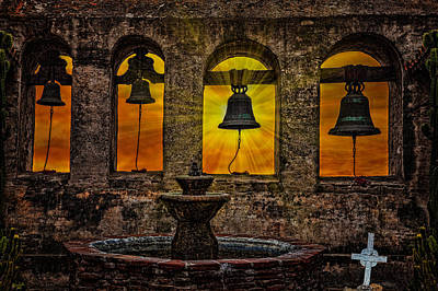 Photograph - Mission Bells by Chris Lord