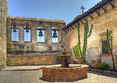 Mission Bells Art Print