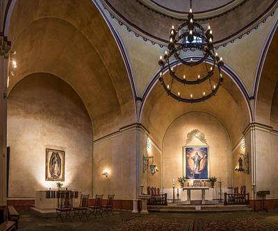 Photograph - Mission Concepcion Altar by Andy Crawford