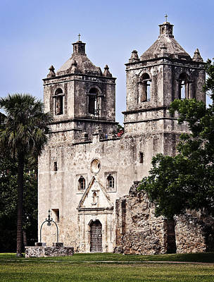 Mission Concepcion Art Print by Andy Crawford