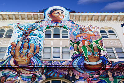 Photograph - Mission District Women's Building In San Francisco by Carol M Highsmith