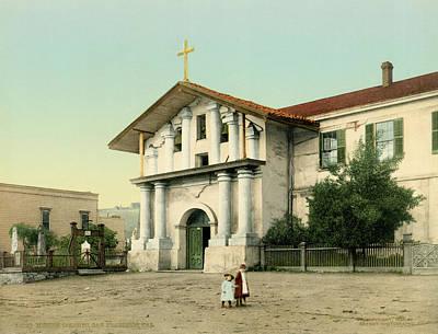 Dolores Photograph - Mission Dolores by Underwood Archives