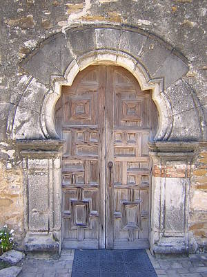 Photograph - Mission Door by Duwayne Williams