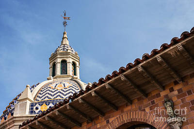 Photograph - Mission Inn by Terry Ellis