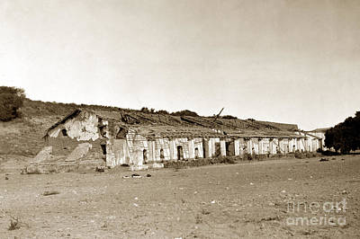Photograph - Mission La Purisima Concepcion California Circa 1900 by California Views Archives Mr Pat Hathaway Archives
