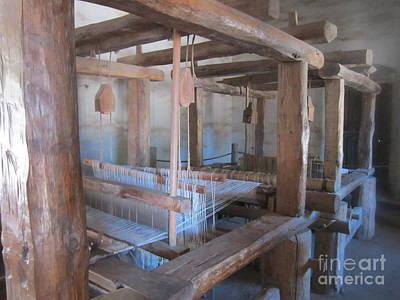 Loom Digital Art - Mission Looms by Bob Semk