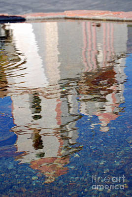 Photograph - Mission Reflection by Patricia  Tierney