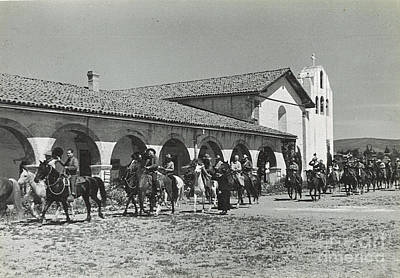 Photograph - Mission Ride 1935 by Patricia  Tierney