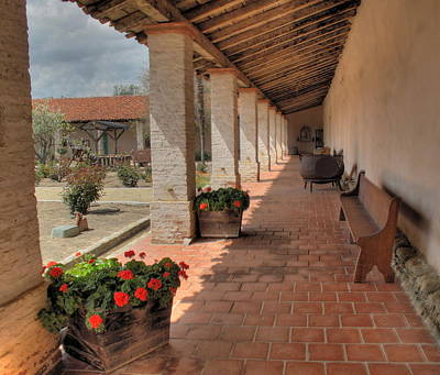 Photograph - Mission San Antonio by Derek Dean