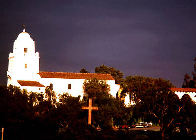 Photograph - Mission San Diego by Robert  Rodvik