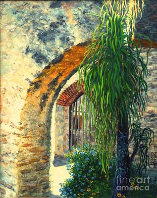 Mission San Jose Art Print by Beverly Theriault