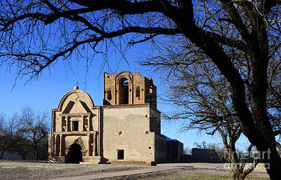 Photograph - Mission San Jose De Tumacacori Arizona by Bob Christopher