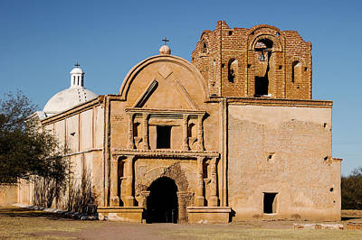 Photograph - Mission San Jose De Tumacacori by Dakota Light Photography By Dakota
