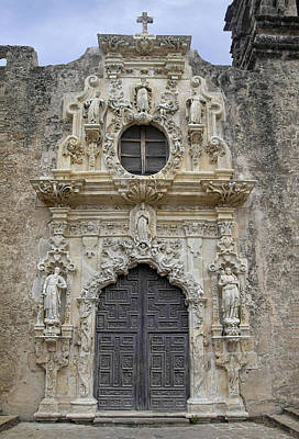 Mission San Jose Doorway Art Print