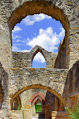 Photograph - Mission San Jose In San Antonio by Christine Till